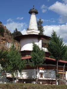 Dungtsi Lhakhang Stupa Paro Bhutan 2007 11 11