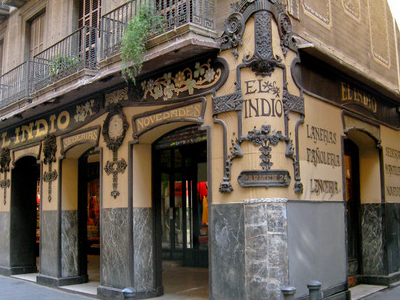 Traditional Shop El Indio In Carrer Del Carme