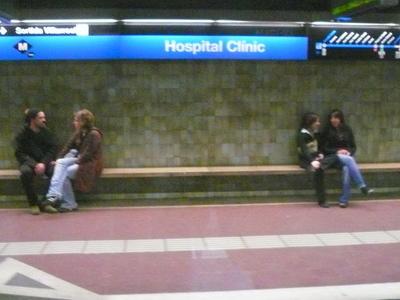 Hospital Clínic Station
