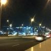 The Floating Bridge At Night