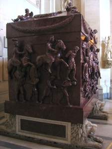 The Sarcophagus Of Helena