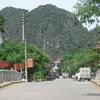 Hoa Lu Street Bridge In The East