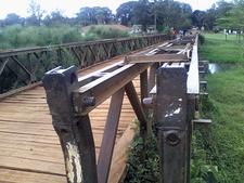 Wood Bridge Kanoni Kagera
