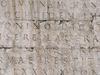Inscription Describing The Restoration