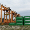 Kuantan Port Container Yard With Rubber Tyre Gantry