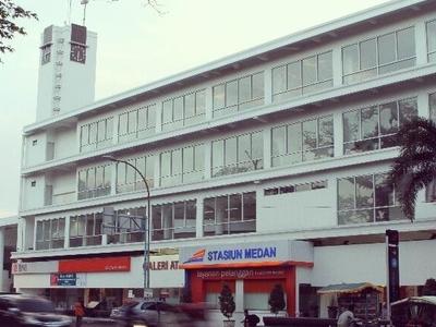 Medan  Station After Renovation In  2 0 1 3