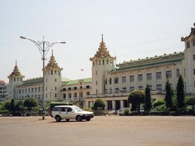 Myanmar   Yangon   Main Train Station