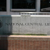 National Central Library English Logo In Front Of Its Headquarters
