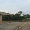 Old Temerloh Bridge Damaged