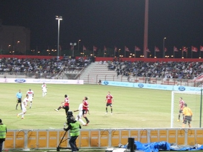 AC Milan Vs PSG Match At Al-Rashid Stadium