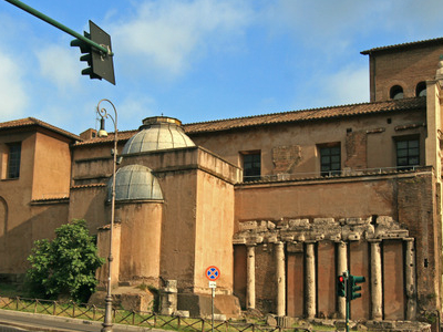 Church Of San Nicola In Carcere And Temple Of Spes