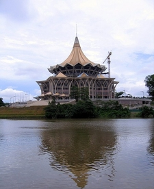 Sarawak State Assembly Under Construction In 2 0 0 8