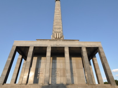 Slavín War Memorial And Cemetery For Fallen Soviet Army