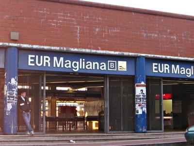 EUR Magliana Station