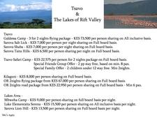 Tsavo Lakes