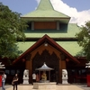 The Front Side Of Sanggar Agung Temple 2 C Surabaya Indonesia 2 C Which Is Facing The Sea