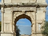 The Arch Of Titus From Front