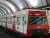 Train At Provença FGC Station