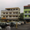 View Of The Business Buildings In Teluk Sengat