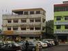 View Of The Business Buildings In Teluk Sengat