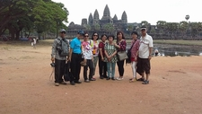 View At Angkor Temple