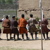 Archery Dance On Hitting The Bullseye 2 C Thimphu