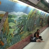 Mural In Bulnes Underground Station
