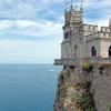 Swallow\'s Nest, Built In 1912 For Oil Millionaire Baron Von Steingel, A Landmark Of Crimea