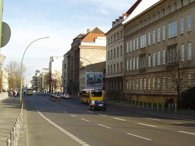 Invalidenstraße With Ministry Of Economics (Left)