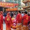 Kaohsiung Cijin Tianhou Temple Lion Dancers