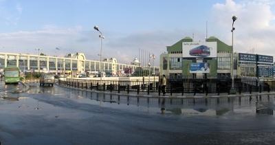 Main Bus Station In Esenler
