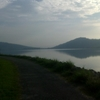 Mengkuang Dam Jogging Track At Dawn