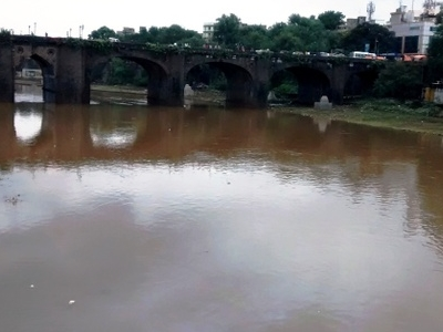Mutha   River  Near   P M C