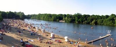 Plötzensee Bathing Beach