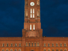 Rotes Rathaus At Night