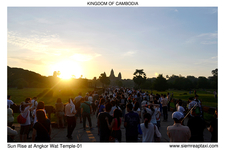 Sun Rise At Angkor Wat Temple 01