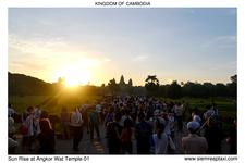Sun Rise At Angkor Wat Temple 01