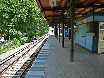 Berlin-Friedenau Station