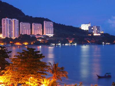 Tanjung Bungah View At Night