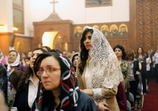 02l Easter Holy Week Easter Services In Coptic Church In Cairo