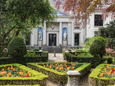 Museum Van Loon Seen From Gardens