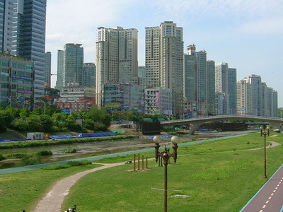 Bundang District Of Seongnam