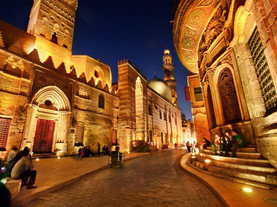 Cairo  Egypt  Mo  Ez Street  Hussein By Amr Maged D5ergir