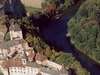 Orava Castle From Above