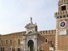 The Porta Magna At The Venetian Arsenal
