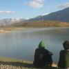 Visitors At Dhankar Lake