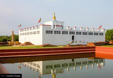 Lumbini Temple In Nepal Buddha Birthplace