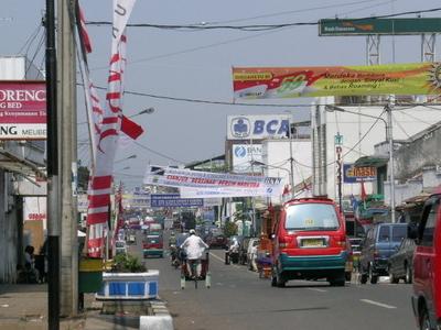 Main Road In Cianjur