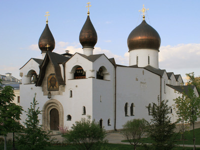 The Holy Protection Cathedral At The Marfo-Mariinsky Convent