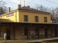 Praha-Bubeneč Railway Station